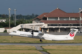 JA81RC - Ryukyu Air Commuter de Havilland Canada DHC-8-402Q Dash 8