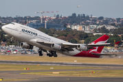 Last flight of the oldest Qantas B744 from Sydney to Victorville title=