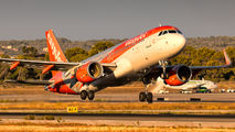 G-EZOX - easyJet Airbus A320 aircraft