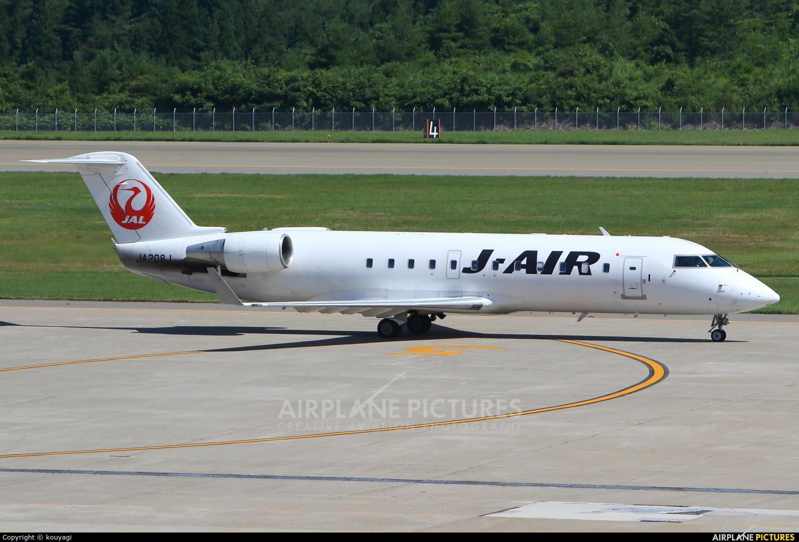 J-Air JA208J aircraft at Akita