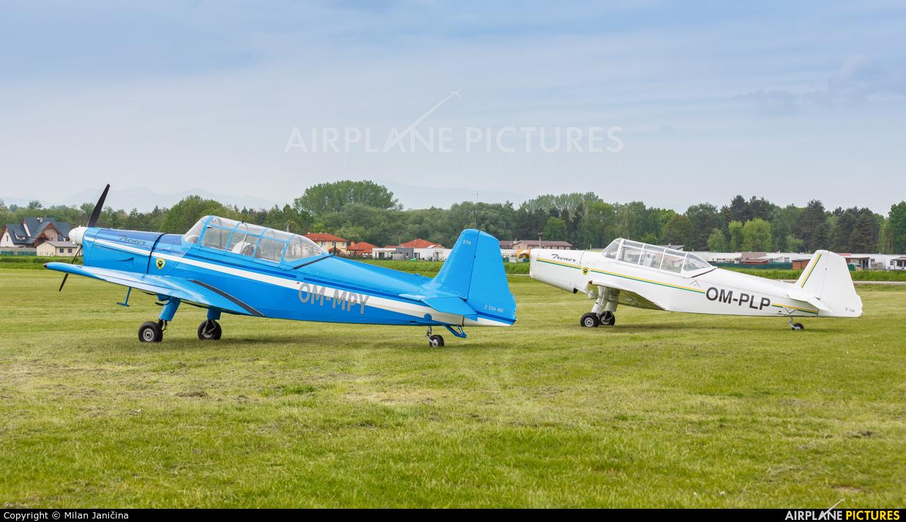 Aeroklub Žilina OM-MPY aircraft at Prievidza