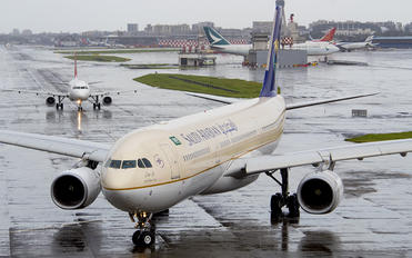 HZ-AQG - Saudi Arabian Airlines Airbus A330-300