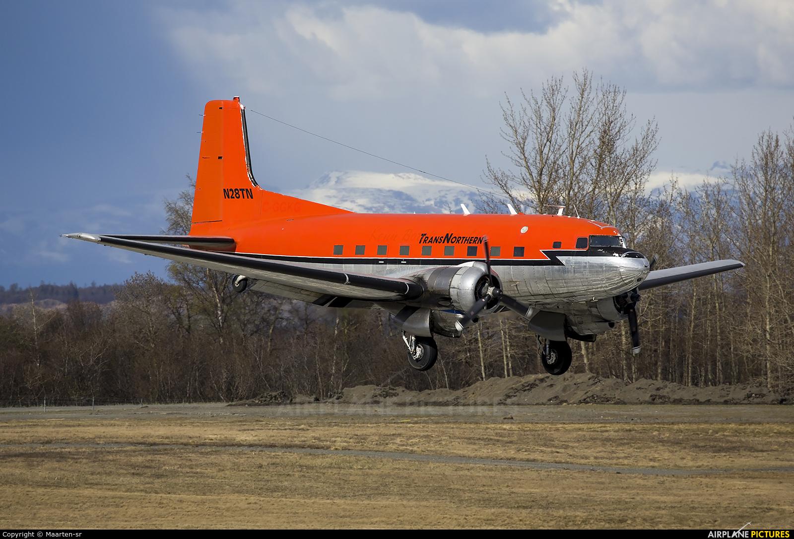 Trans Northern Aviation N28TN aircraft at Anchorage - Ted Stevens Intl / Kulis Air National Guard Base