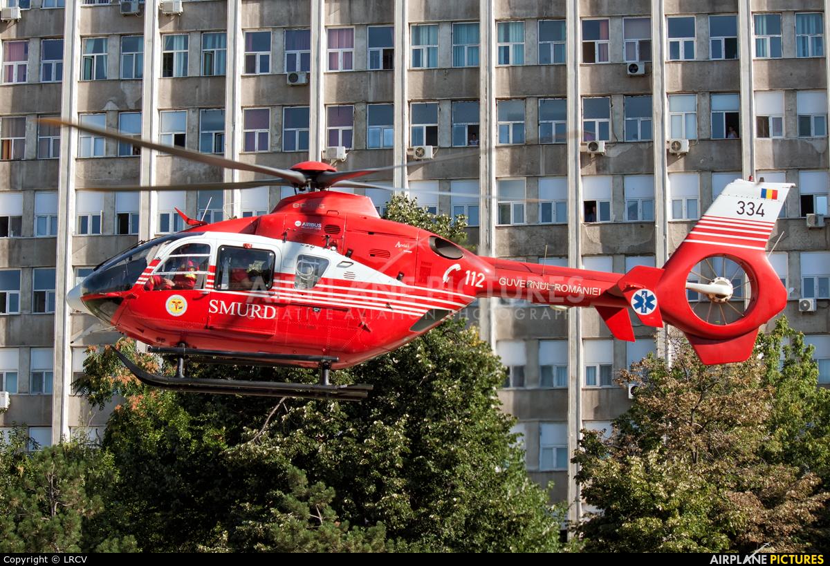 Romanian Emergency Rescue Service 344 aircraft at Craiova