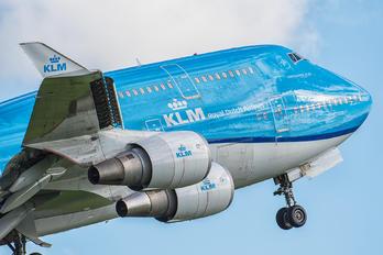 PH-BFW - KLM Boeing 747-400