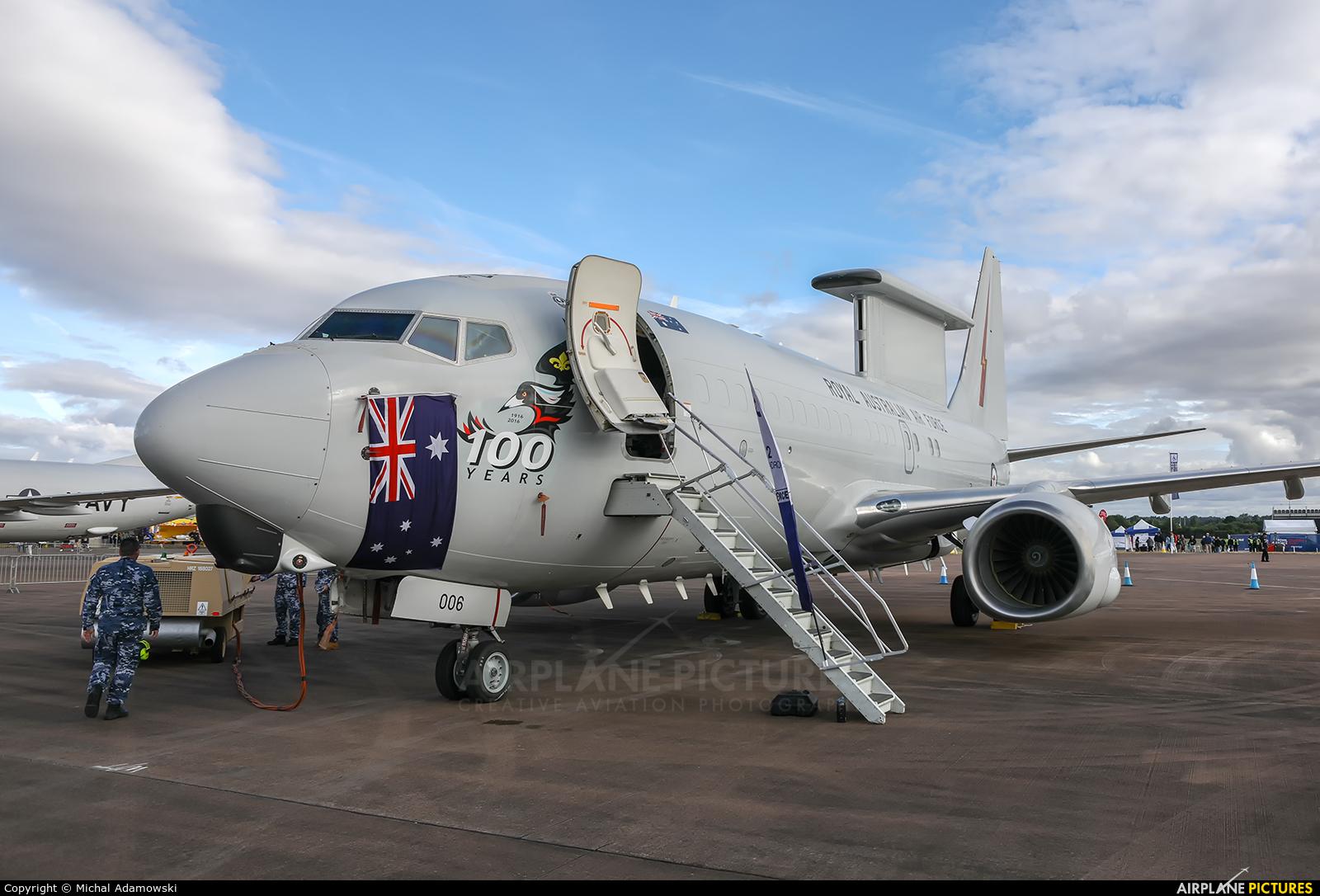 Australia - Air Force A30-006 aircraft at Fairford
