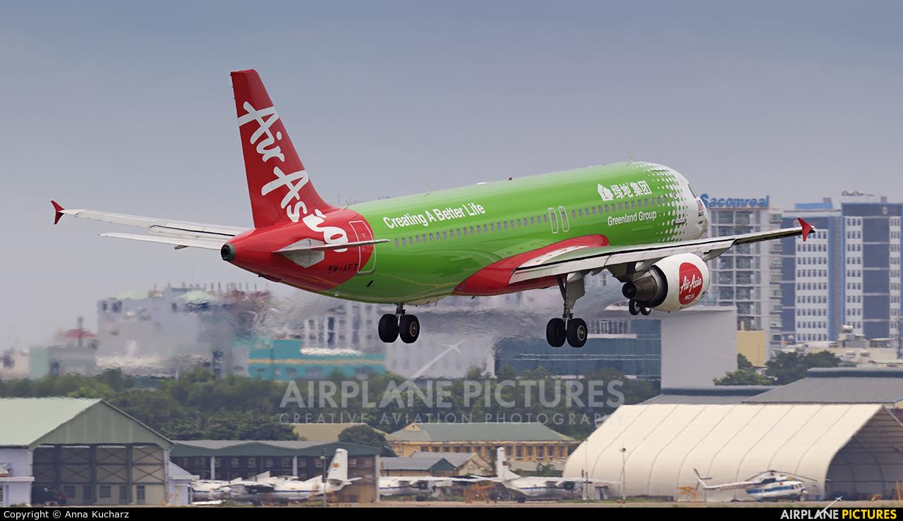 AirAsia (Malaysia) 9M-AFT aircraft at Ho Chi Minh City - Tan Son Nhat Intl