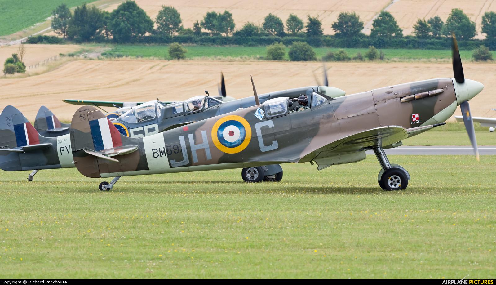 Historic Aircraft Collection G-MKVB aircraft at Duxford
