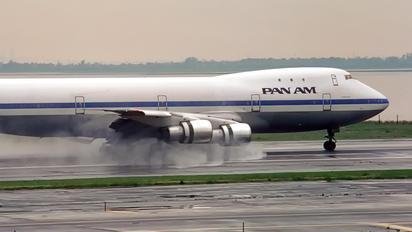 N653PA - Pan Am Boeing 747-100