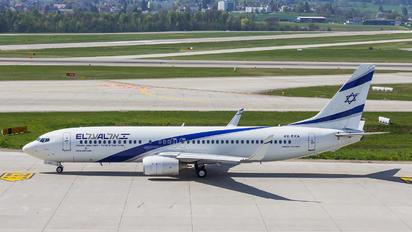 4X-EKA - El Al Israel Airlines Boeing 737-800