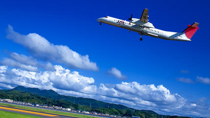 JA848C - JAL-  Japan Air Commuter de Havilland Canada DHC-8-400Q / Bombardier Q400