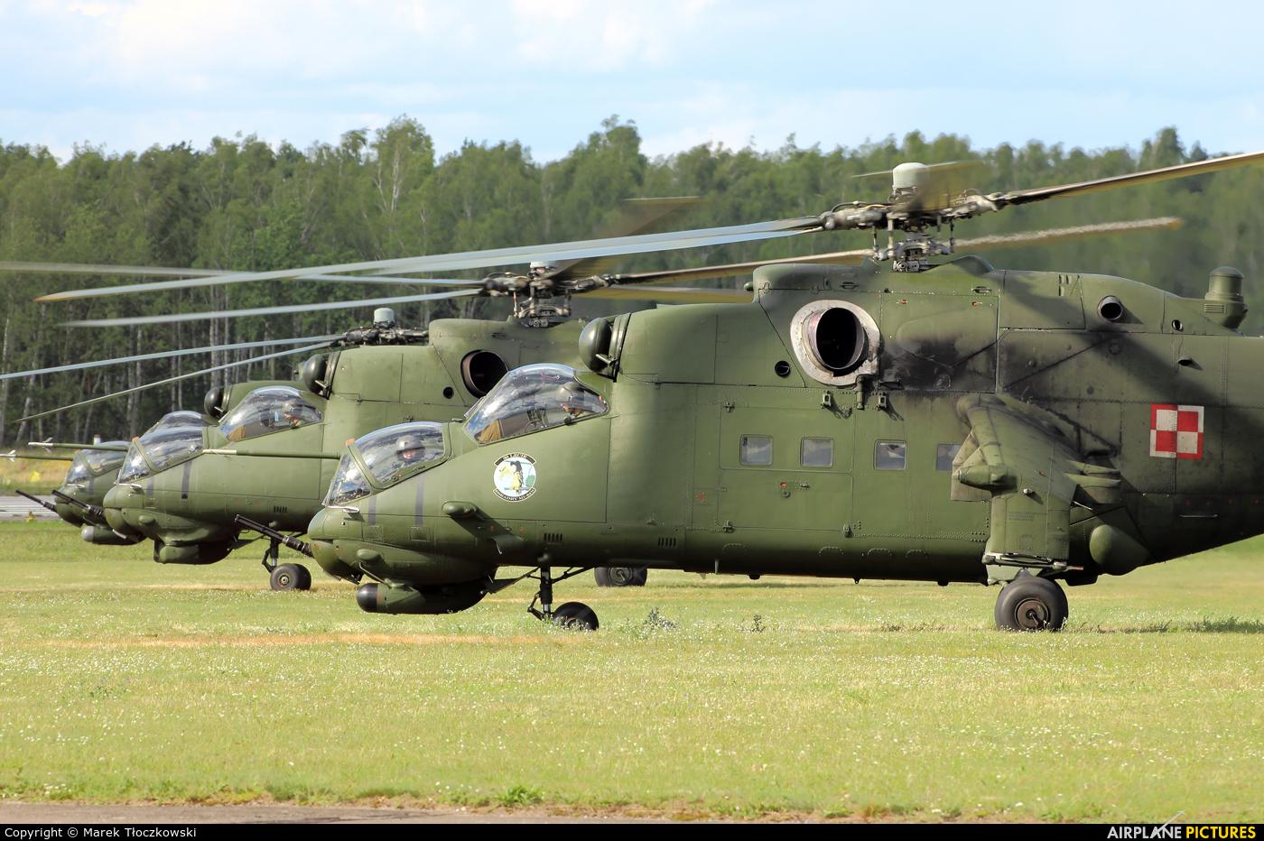 Poland - Army 736 aircraft at Warsaw - Babice