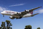 A7-APF - Qatar Airways Airbus A380 aircraft