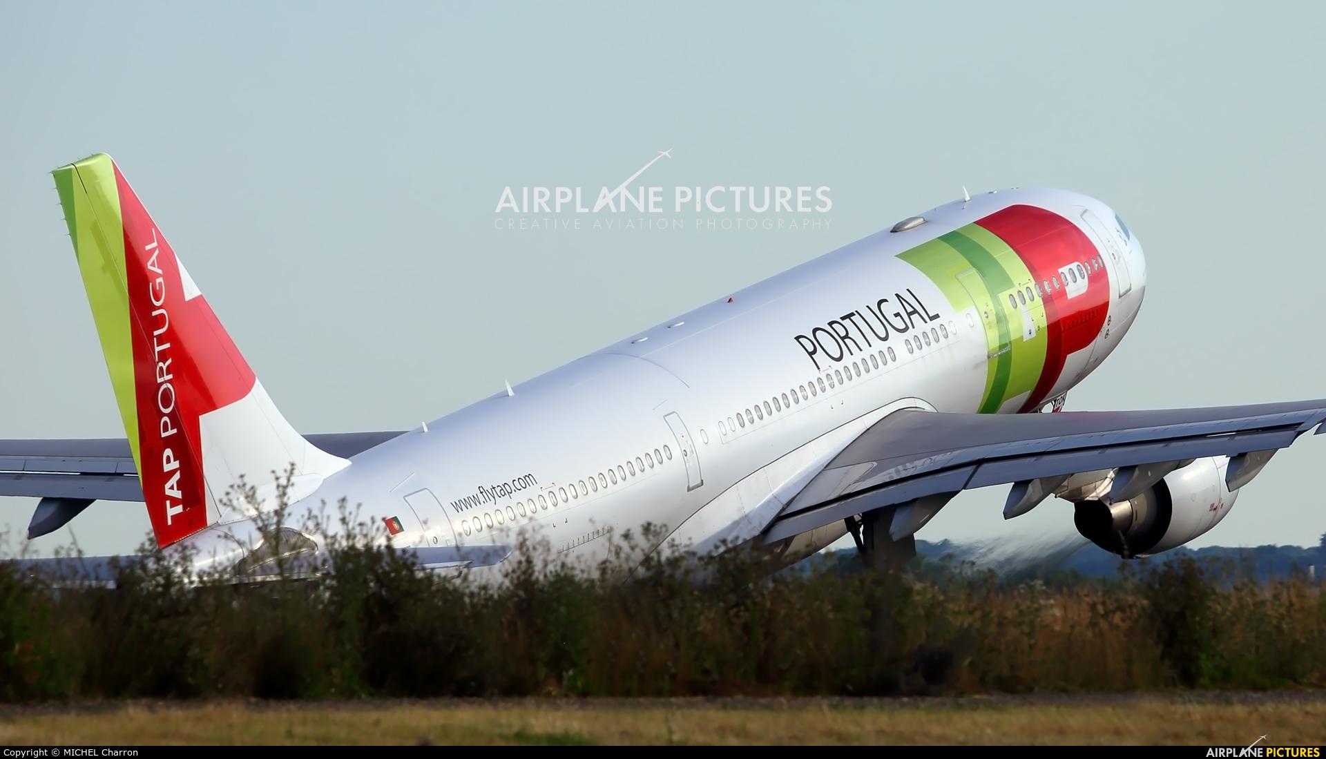TAP Portugal CS-TOK aircraft at Paris - Orly