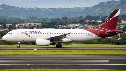 N683TA - TACA Airbus A320