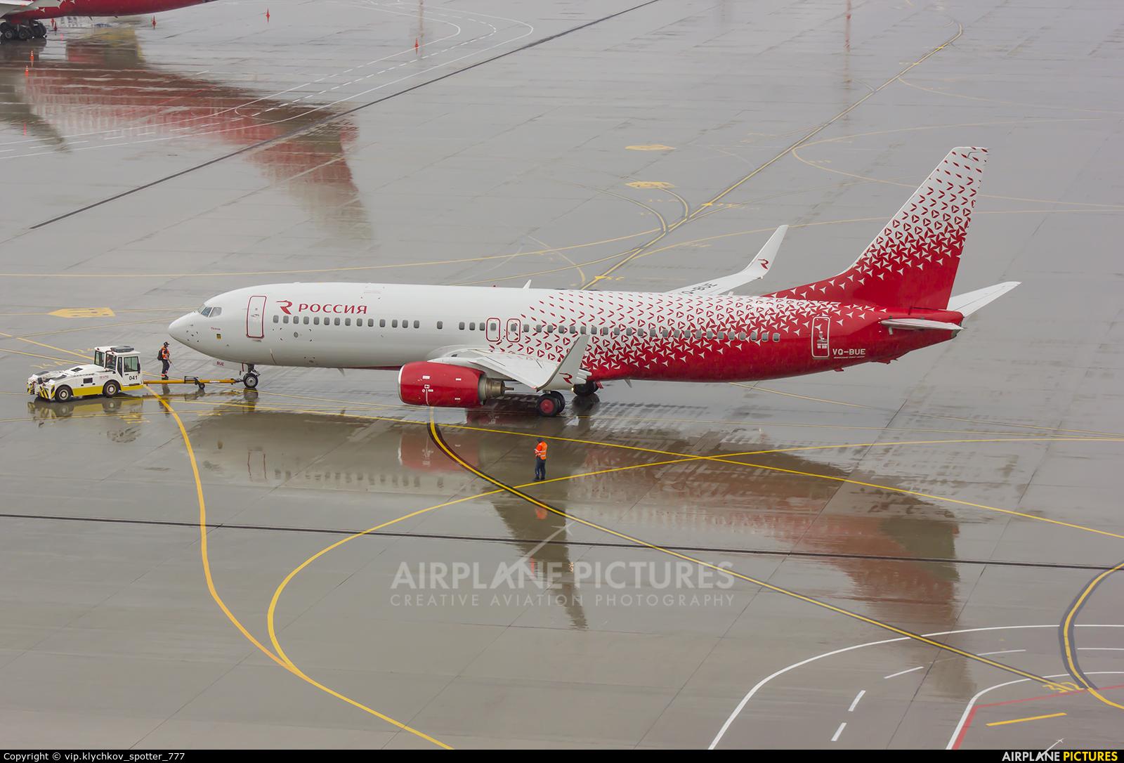 Rossiya VQ-BUE aircraft at Moscow - Vnukovo