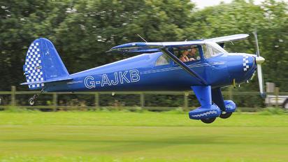 G-AJKB - Private Luscombe 8E Silvaire Deluxe