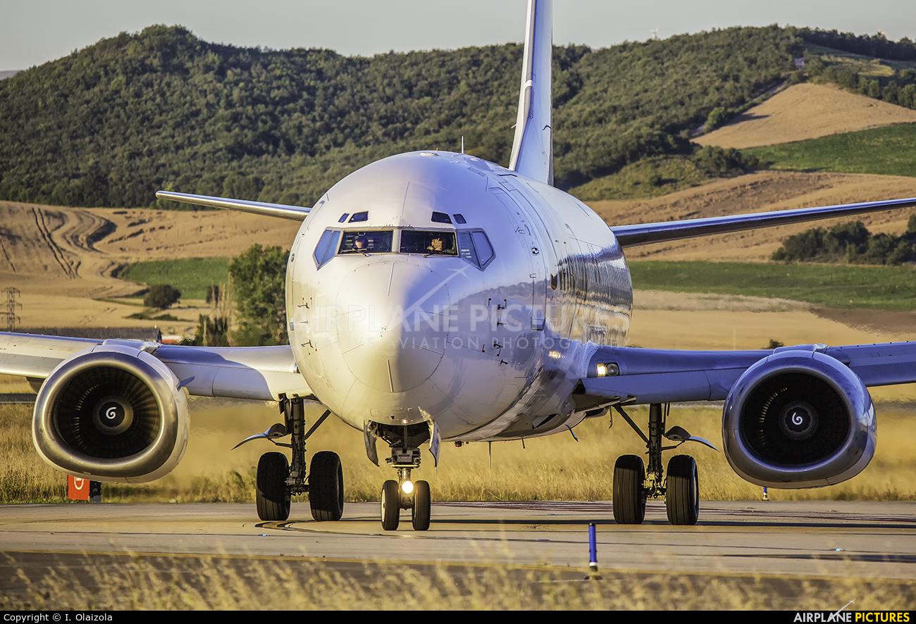 Swiftair EC-MAD aircraft at Vitoria