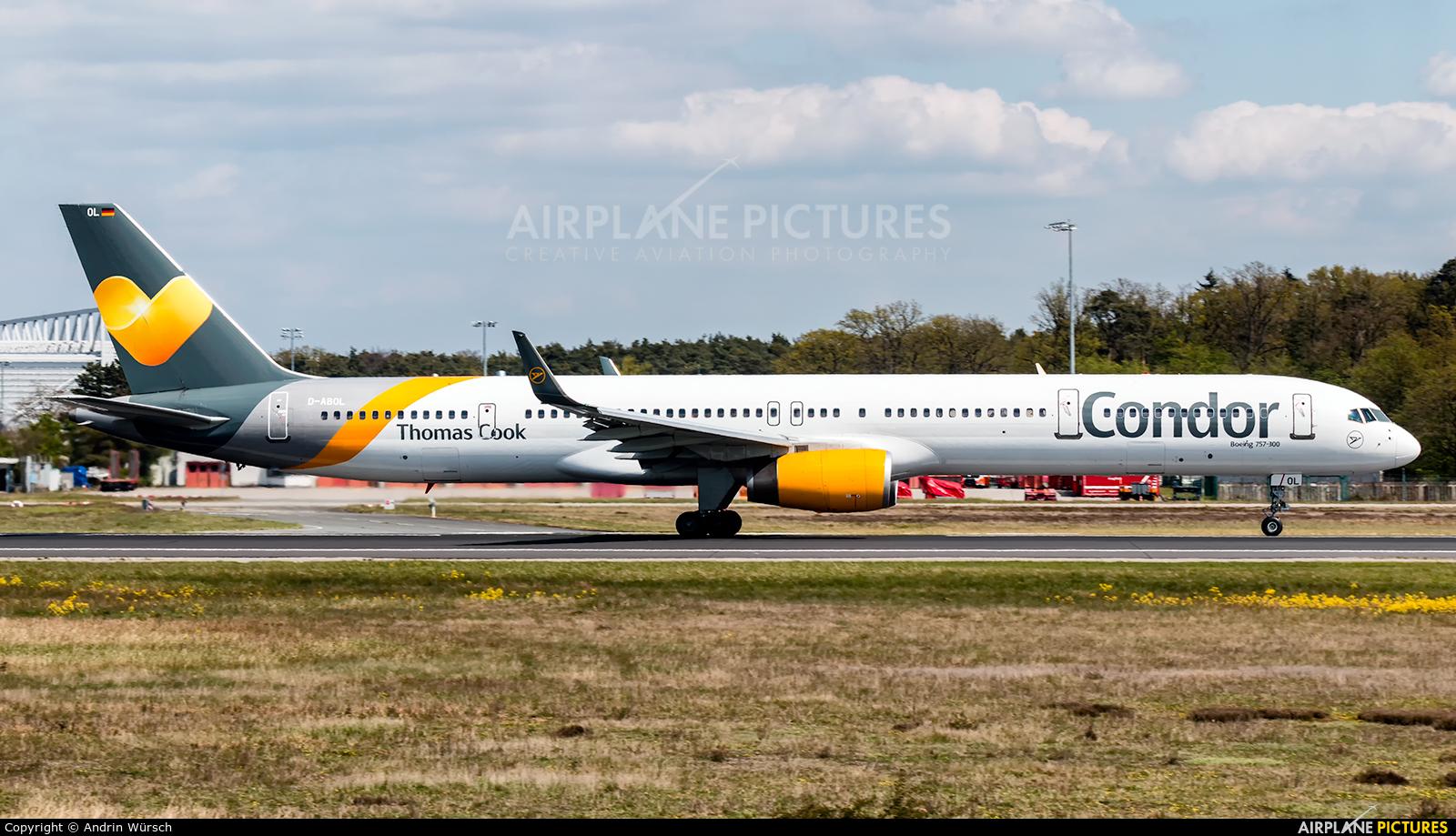 Condor D-ABOL aircraft at Frankfurt