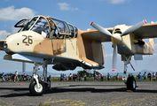 F-AZKM - Musee Europeen de l'Aviation de Chasse North American OV-10 Bronco aircraft