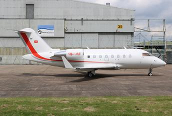 HB-JSF - Private Bombardier Challenger 650