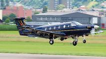 HB-FVD - Air Engiadina Pilatus PC-12 aircraft