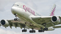 A7-APG - Qatar Airways Airbus A380 aircraft