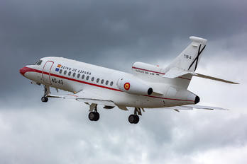 T.18-4 - Spain - Air Force Dassault Falcon 900 series