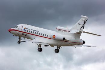 T.18-4 - Spain - Air Force Dassault Falcon 900 series