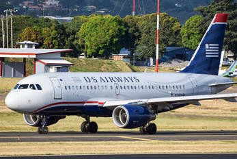 N740UW - US Airways Airbus A319