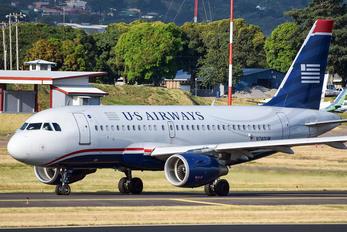 N740UW - US Airways Airbus A319