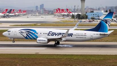 SU-GEE - Egyptair Boeing 737-800