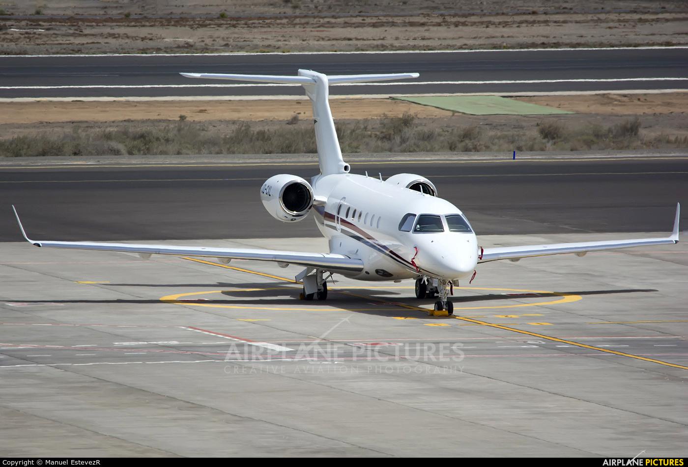 Private OD-CXL aircraft at Tenerife Sur - Reina Sofia