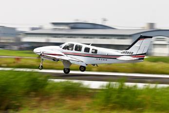 JA58GB - Asahi Airlines Beechcraft 58 Baron