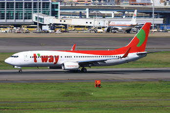HL8030 - T'Way Air Boeing 737-800