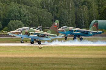 83 - Belarus - Air Force Sukhoi Su-25UB