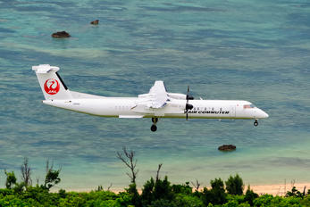JA84RC - Ryukyu Air Commuter de Havilland Canada DHC-8-400Q / Bombardier Q400