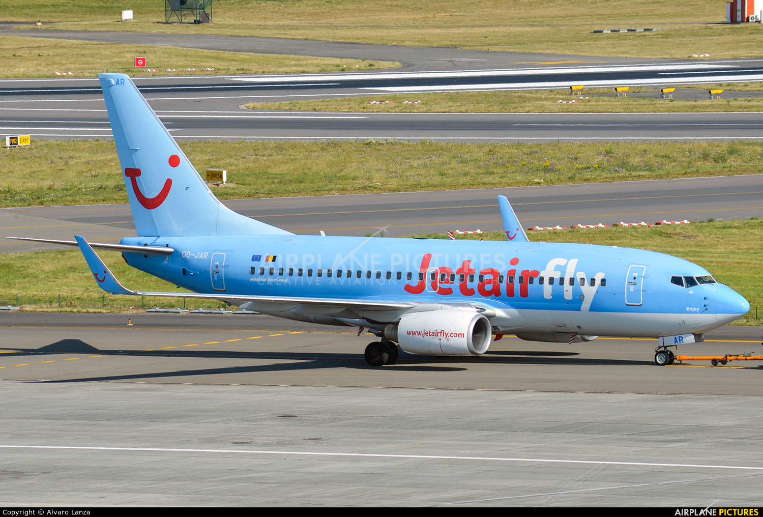 Jetairfly (TUI Airlines Belgium) OO-JAR aircraft at Brussels - Zaventem