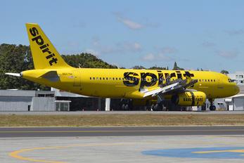 N607NK - Spirit Airlines Airbus A320