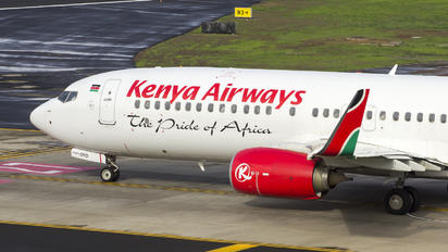 5Y-CYD - Kenya Airways Boeing 737-800