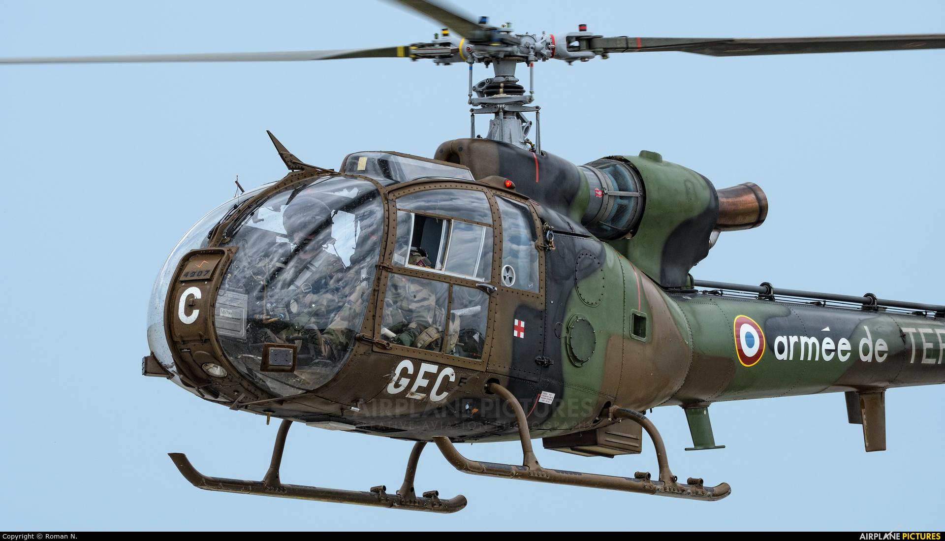 France - Army GEC4207 aircraft at Landivisiau
