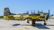OE-ESA - Red Bull North American T-28B Trojan aircraft