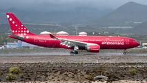 OY-GRN - Air Greenland Airbus A330-200 aircraft