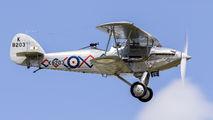 G-BTVE - Demon Displays Hawker Demon aircraft