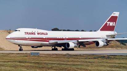 N134TW - TWA Boeing 747-100
