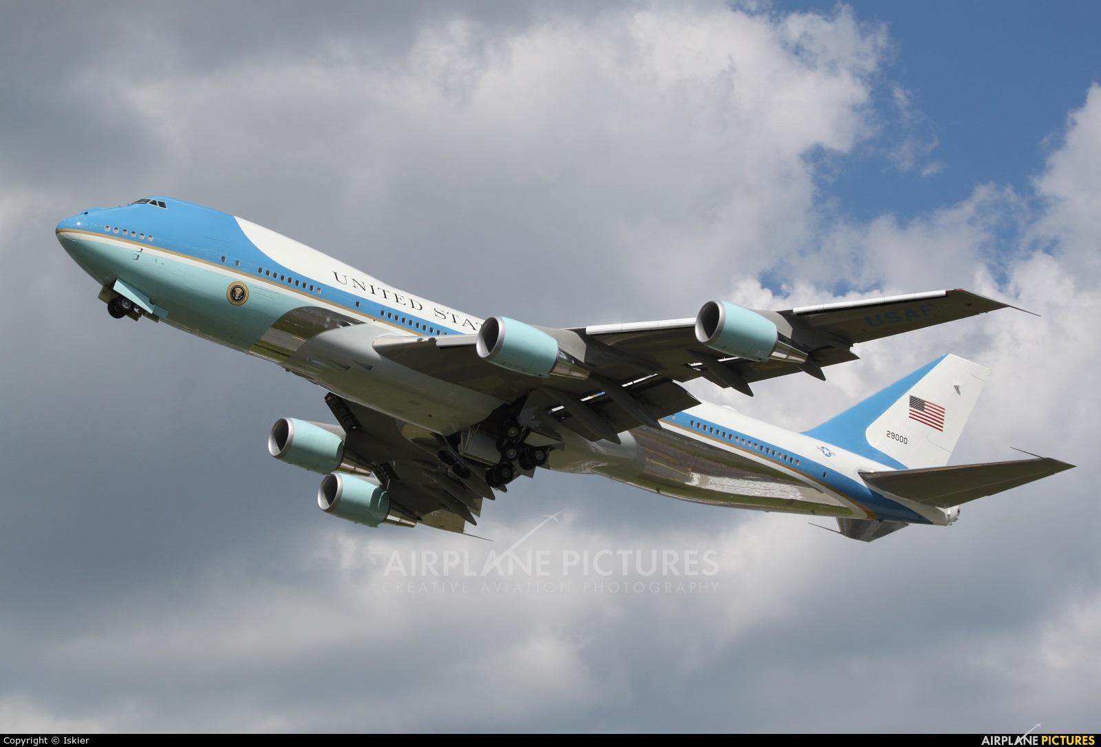 USA - Air Force 29000 aircraft at Warsaw - Frederic Chopin