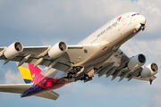 HL7634 - Asiana Airlines Airbus A380 aircraft