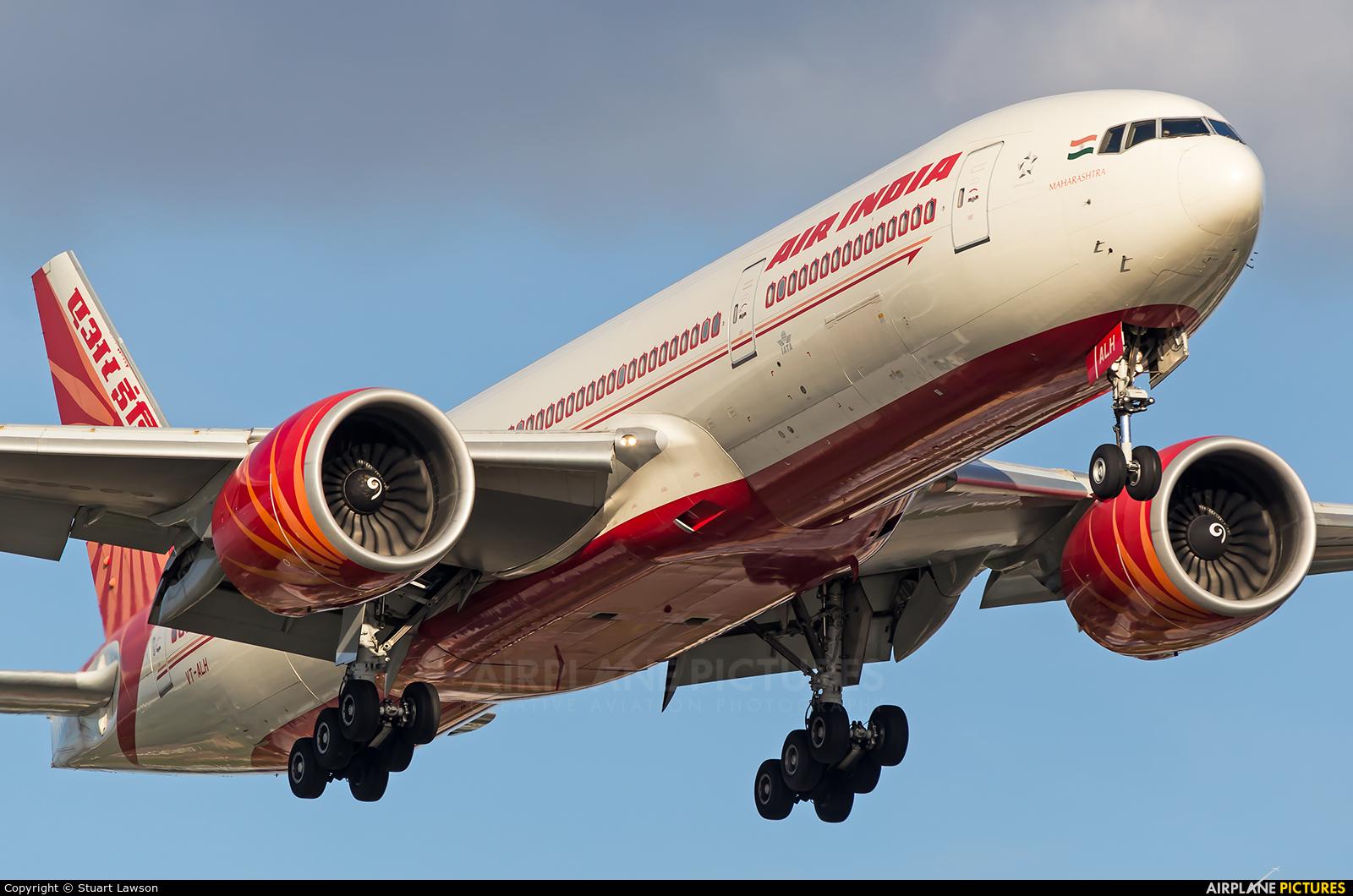 Air India VT-ALH aircraft at London - Heathrow