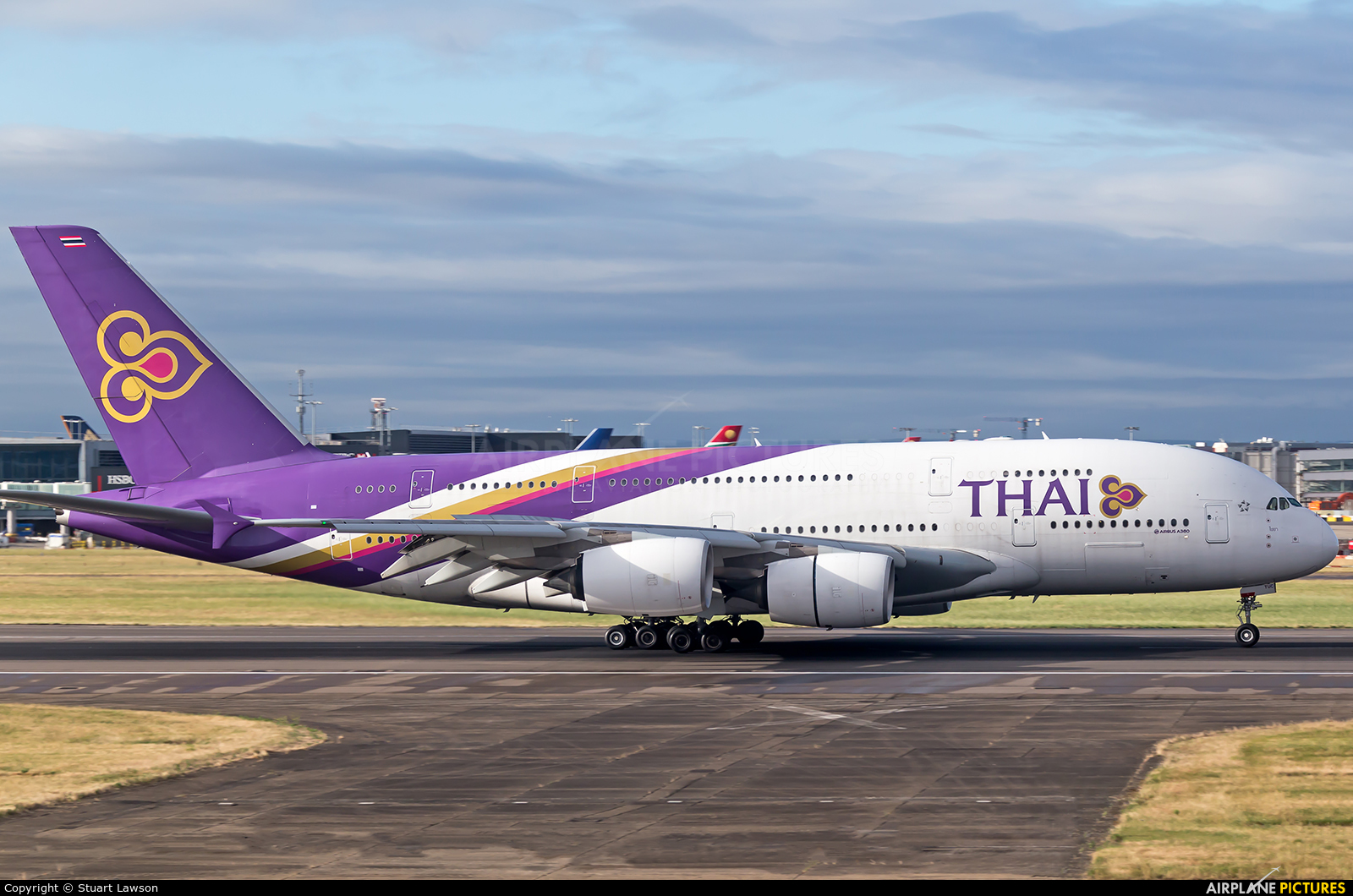 Thai Airways HS-TUC aircraft at London - Heathrow