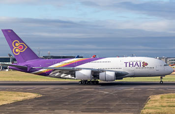 HS-TUC - Thai Airways Airbus A380